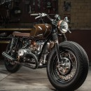 Ural 650 cafe racer/street tracker by Dozer Garage