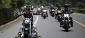 Rassemblement national Harley-Davidson en Chine
